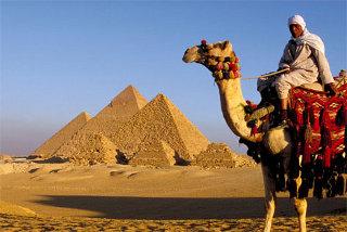 Op reis naar Egypte